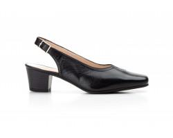Zapatos Mujer Piel Negro Tacón Ancho Kamatic KAMATIC-A4002 39,90€