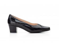 Zapatos Mujer Piel Negro Tacón Ancho Kamatic KAMATIC-A4003 39,90€