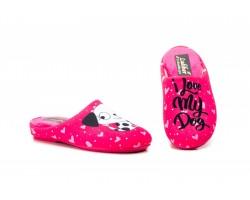 "Zapatillas ""I love my dog"" para mujer Ludiher 810-LUDIHER19,95€"