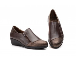 Zapatos Mujer Piel Marrón Cremallera JAM JAM-623 39,90€