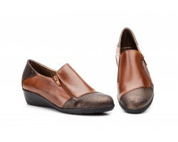 Zapatos Mujer Piel Cuero Cremallera JAM JAM-623 39,90€