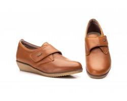 Zapatos Mujer Piel Cuero Velcro JAM AE-391 39,90€