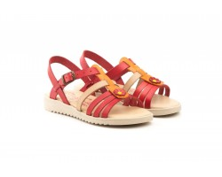 Sandals Girl Skin Red Orange Buckle 807-ROJO-NARANJA39,90 €