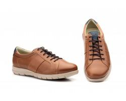 Zapatos Casual Hombre Piel Perforada Cuero Keelan KL-1832 59,50€