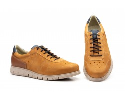 Zapatos Casual Hombre Piel Nobuck Cuero Keelan KL-2875 59,50€