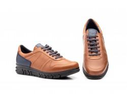 Zapatos Casual Hombre Piel Cuero Cordones Keelan KL-3874 59,50€