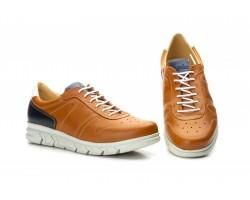 Zapatos Casual Hombre Piel Cuero Marino Cordones Keelan KL-3876 59,50€